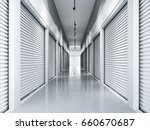 storage facilities with white... | Shutterstock . vector #660670687