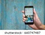 chiang mai  thailand   june 16  ... | Shutterstock . vector #660747487