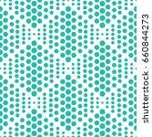 vector pattern. geometric... | Shutterstock .eps vector #660844273