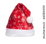 cap of santa isolated on white | Shutterstock . vector #66084454