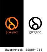 modern logo design studio.   Shutterstock .eps vector #660894763