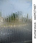 water droplet on windows | Shutterstock . vector #660927487
