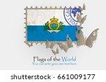 vector flag measurements with... | Shutterstock .eps vector #661009177
