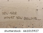 "handwriting  words ""you are... 
