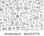 germany  design elements.... | Shutterstock .eps vector #661019773