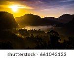 sunset phang nga  thailand | Shutterstock . vector #661042123