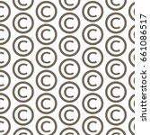pattern background copyright... | Shutterstock .eps vector #661086517