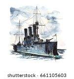 Cruiser Avrora  St. Petersburg...