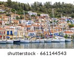 Sailing Yachts Boats At Marina...