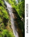 Waterfall In Big Basin State...
