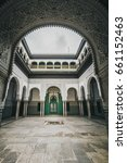 Small photo of Historical court of Casablanca - Mahkama du Pacha - Morocco - 2017
