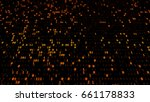 3d rendered abstract background.... | Shutterstock . vector #661178833