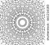 adult coloring book page....   Shutterstock .eps vector #661216183