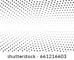 abstract halftone dotted... | Shutterstock .eps vector #661216603