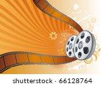 film strip movie theme... | Shutterstock .eps vector #66128764