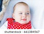 portrait photo of blue eyed... | Shutterstock . vector #661384567