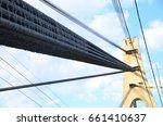 bridge construction. city... | Shutterstock . vector #661410637