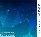 geometric background. internet... | Shutterstock .eps vector #661506133