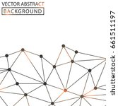 geometric background. internet... | Shutterstock .eps vector #661511197