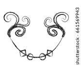 elegant victorian style design | Shutterstock .eps vector #661569943