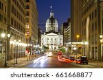 a dramatic view of the indiana... | Shutterstock . vector #661668877