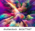 color explosion series.... | Shutterstock . vector #661677667