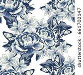 abstract elegance seamless... | Shutterstock .eps vector #661702147