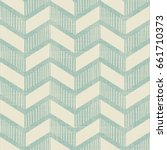 seamless abstract chevron... | Shutterstock .eps vector #661710373