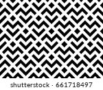 abstract geometric pattern with ... | Shutterstock . vector #661718497