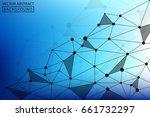geometric vector. concept of...   Shutterstock .eps vector #661732297