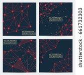 geometric graphic. vector...   Shutterstock .eps vector #661732303