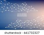 geometric vector. concept of...   Shutterstock .eps vector #661732327
