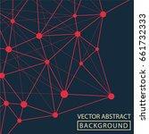 geometric background. internet...   Shutterstock .eps vector #661732333