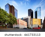 view to tallinn high buildings... | Shutterstock . vector #661733113