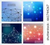 geometric graphic. vector...   Shutterstock .eps vector #661744267