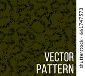vector abstract pattern with... | Shutterstock .eps vector #661747573