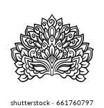 vector  outline  illustration ...   Shutterstock .eps vector #661760797