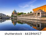 berlin cathedral  berliner dom  ... | Shutterstock . vector #661846417