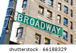 Famous Broadway Street Signs I...