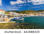 samos island  greece   may 22 ... | Shutterstock . vector #661888333