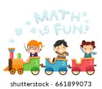 illustration of stickman kids... | Shutterstock .eps vector #661899073