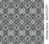 engraving seamless pattern. the ... | Shutterstock .eps vector #661921297
