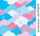 illustration vector of sky...   Shutterstock .eps vector #661938643