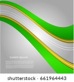 abstract background with bright ... | Shutterstock .eps vector #661964443