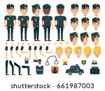 police character creation set....