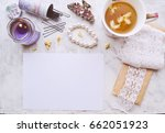 vintage mockup. blank paper ...   Shutterstock . vector #662051923
