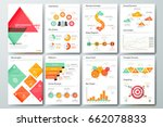 futuristic infographic brochure ... | Shutterstock .eps vector #662078833