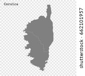 high quality map of corsica is...