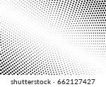 abstract halftone dotted... | Shutterstock .eps vector #662127427