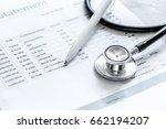 billing statement for for...   Shutterstock . vector #662194207